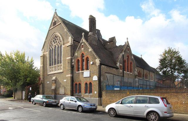 St Bartholomew, (now St Nectarios), Battersea