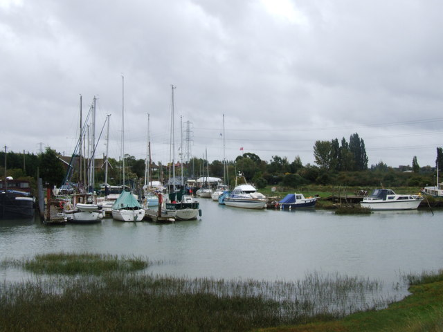Boats at Conyer Creek
