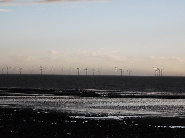 Barrow Wind Farm from Walney Island