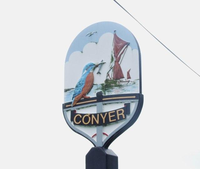 Conyer Village Sign