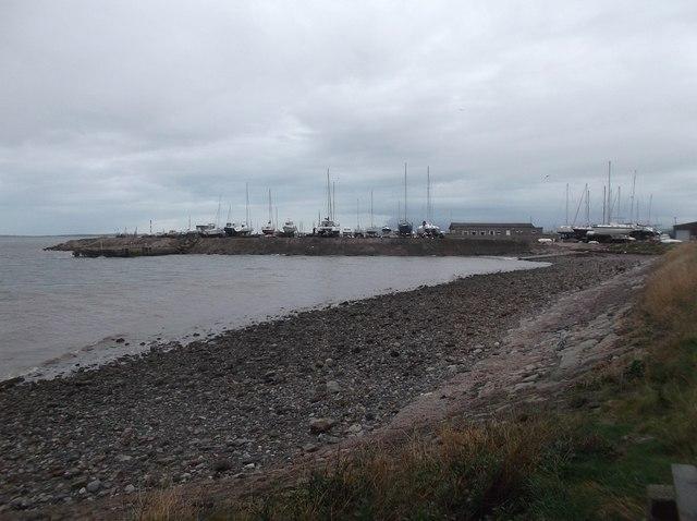 Boat park, Roa Island