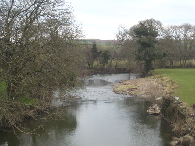 The River Tamar downstream from Higher New Bridge