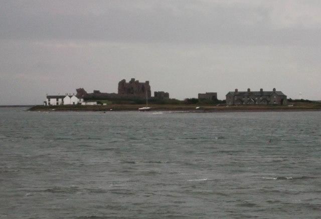 Piel Island from Roa Island