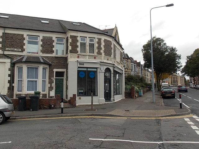 Issa Estates office, Cathays, Cardiff