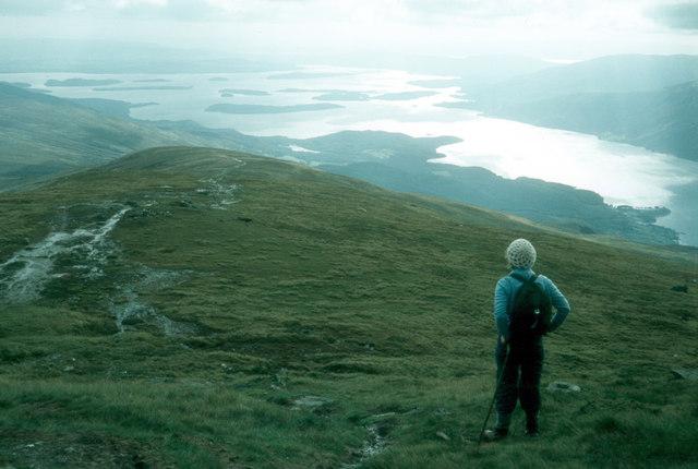 Sithean on the Ben Lomond path