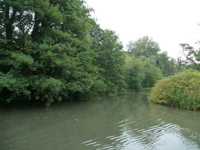 Unnavigable stream, south bank, Kennet & Avon canal