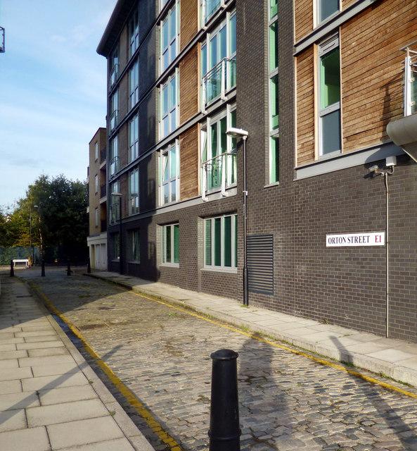 Orton Street E1