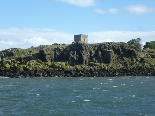 Inchcolm from the Firth of Forth