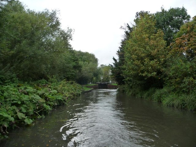 Kennet & Avon canal, below Ham Lock  [no 87]