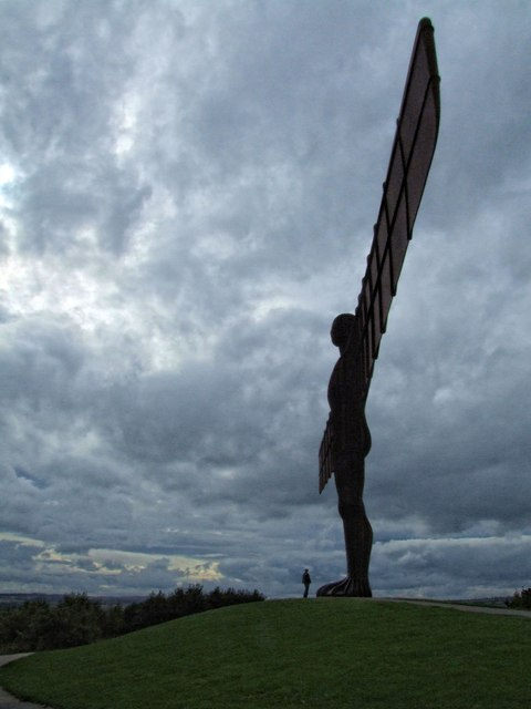Angel of the North, near Lamesley