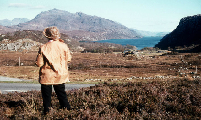 Above Tollie Farm and Loch Maree
