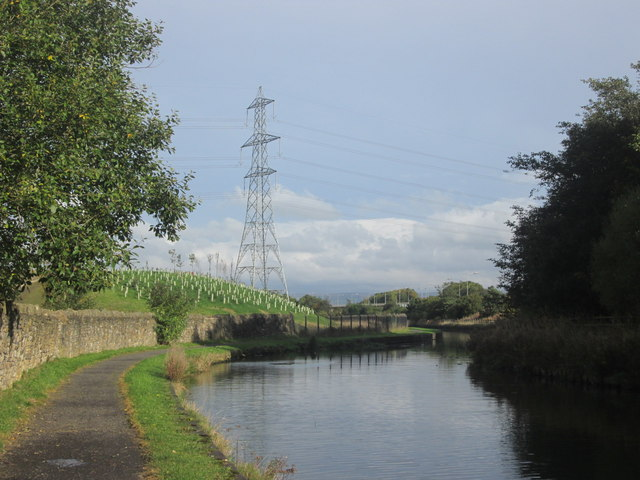 Leeds & Liverpool Canal east of Hapton