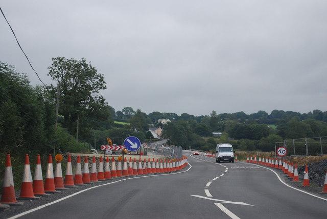 Roadworks, A477