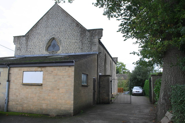 Methodist Church from Manor Lane