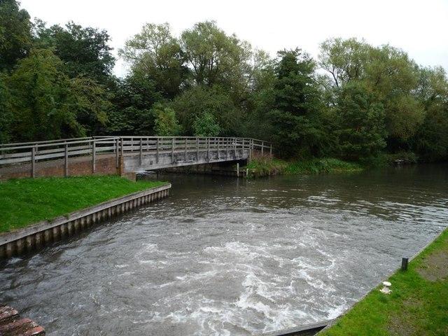 Kennet & Avon canal, below Bull's Lock [no 88]