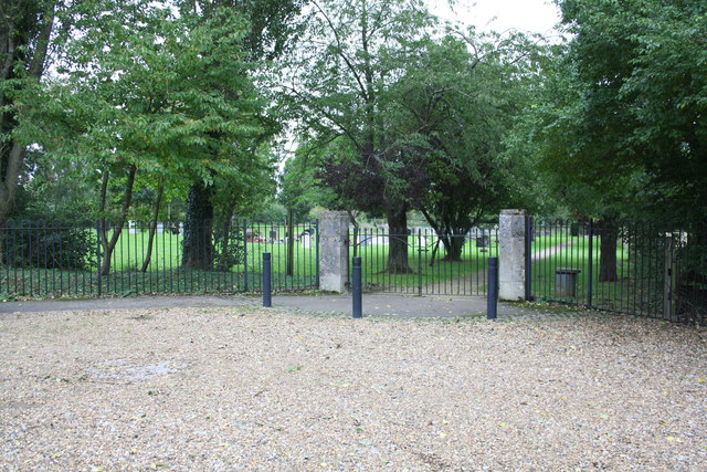 Entrance to cemetery from Stainswick Lane