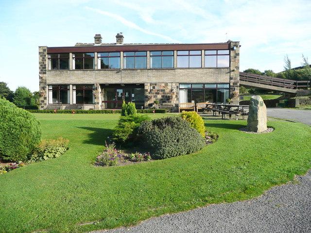 Bradley Hall golf clubhouse