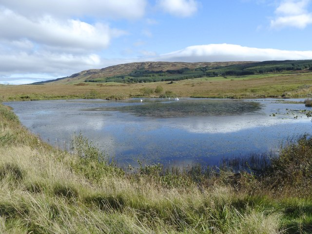 Small loch near Glenquicken