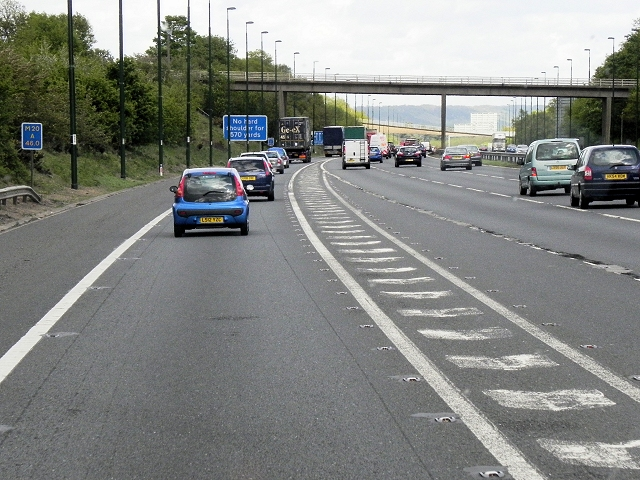 M20 at Junction 3