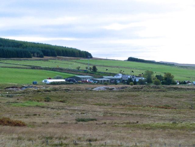Glenquicken Farm and outbuildings