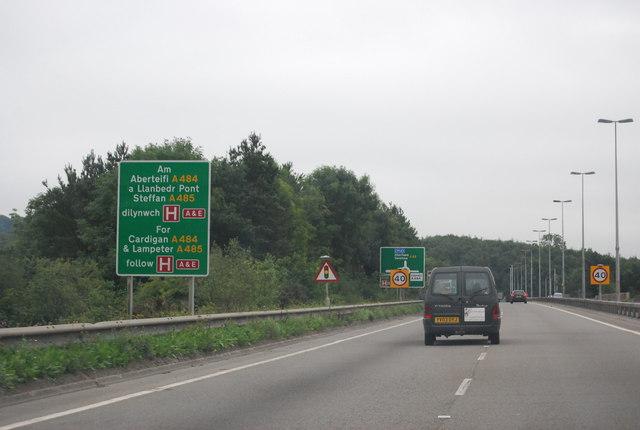 A40, Carmarthen bypass