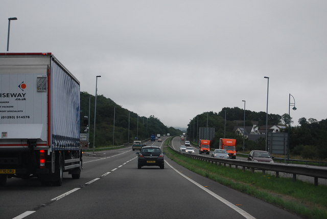 A48 near the B4130 junction