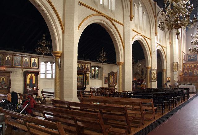 St Bartholomew, (now St Nectarios), Battersea - North arcade