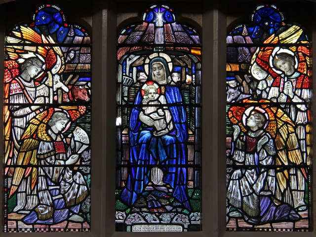 St Bartholomew, (now St Nectarios), Battersea - Stained glass window