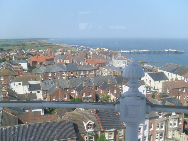 View of Southwold from the Lighthouse