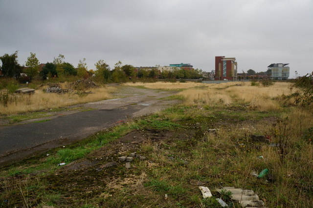 Spare land off Wellington Street West, Hull