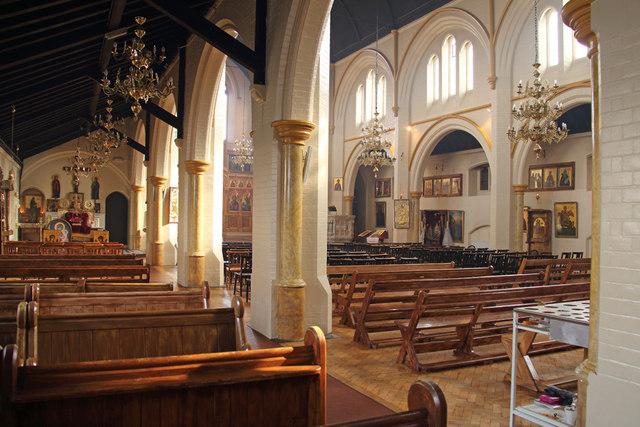 St Bartholomew, (now St Nectarios), Battersea - Interior