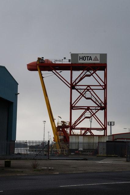Humberside Offshore Training at Albert Dock, Hull