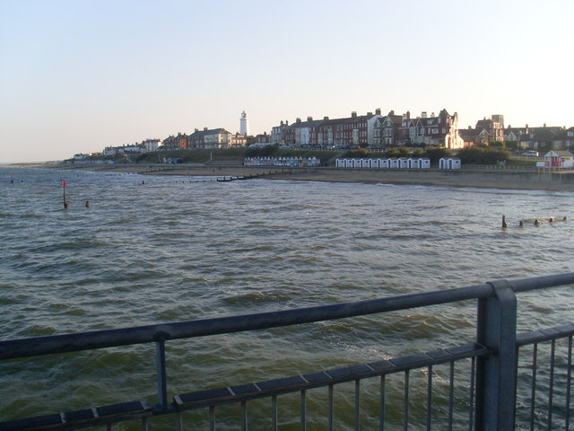 View of Southwold from the Pier