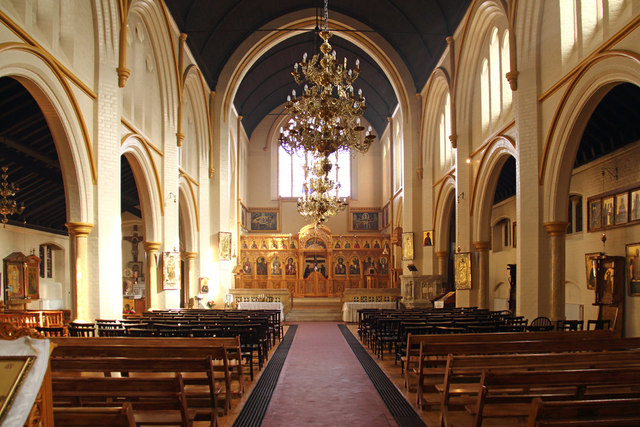 St Bartholomew, (now St Nectarios), Battersea - East end
