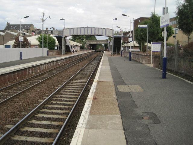 Falkirk Grahamston railway station, Stirlingshire