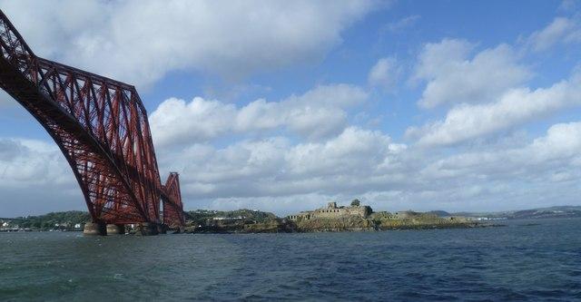 The Forth Bridge and Inchgarvie