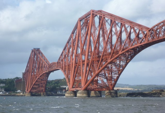 Forth Bridge cantilevers