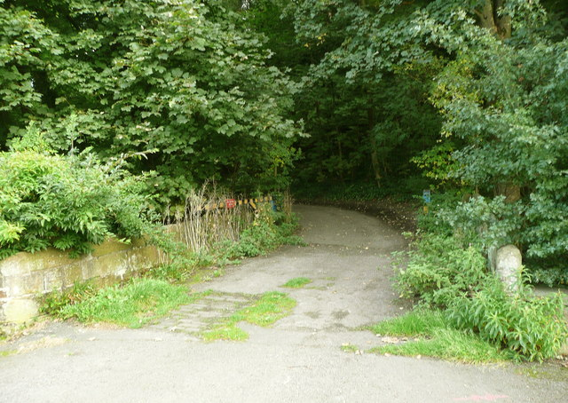 Ellistones Lane crossing Black Brook
