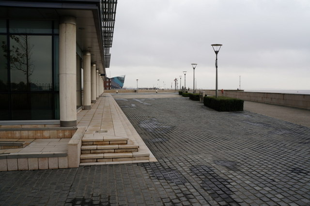 The river front at Humber Quays