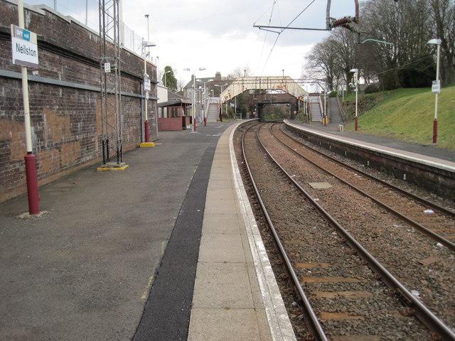 Neilston railway station, Renfrewshire