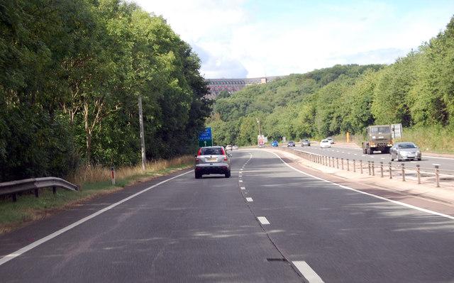 A449 approaching Langstone