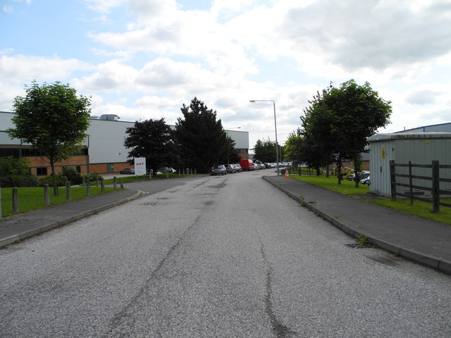 Access road to DST and DMW Factories, Sutton in Ashfiled