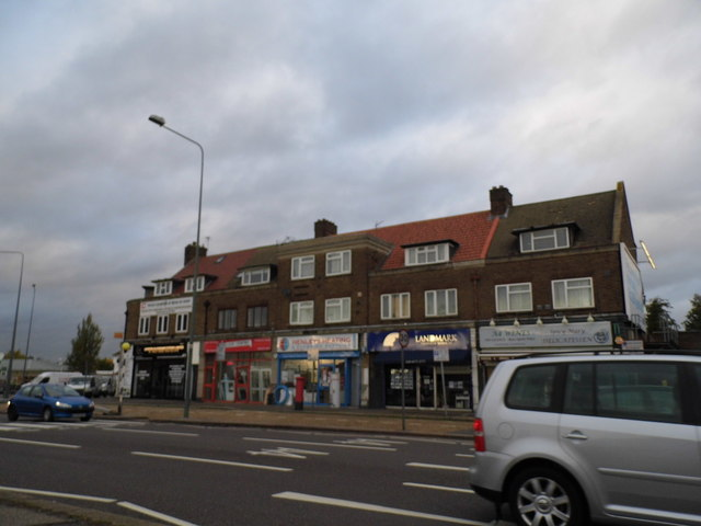 Shops on Bath Road, Hounslow