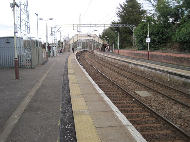 Patterton railway station, Renfrewshire