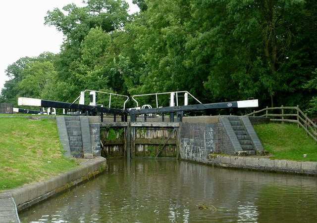 Newton Top Lock near Newton Harcourt, Leicestershire