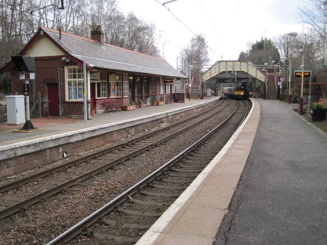 Whitecraigs railway station, Renfrewshire