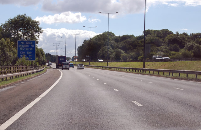 M4 heading south east