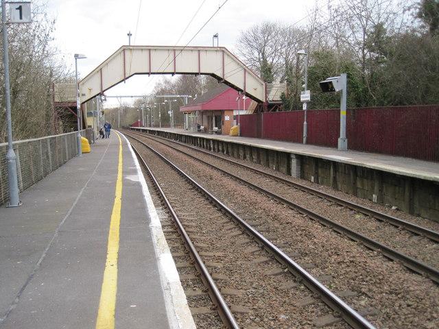 Williamwood railway station, Renfrewshire