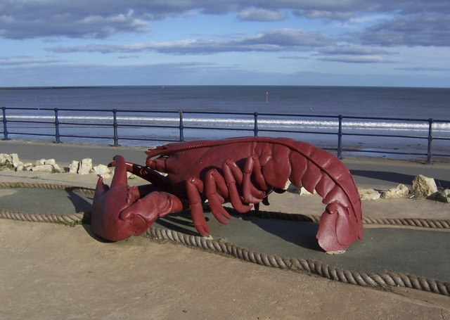 Lobster on the Promenade, Filey - 1