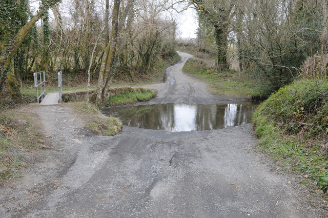 Ford on Afon Gronw